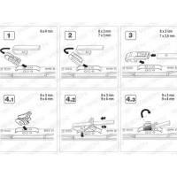 """Купить Щётки стеклоочистителя, каркасные 13""""/330mm Универсальная, адаптер крючок, 1 шт по выгодной цене в Sibcastrol - Ween 100-1013"""