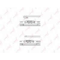 Купить 380L Щетка стеклоочистителя 380m LYNX, 1 шт по выгодной цене в Sibcastrol - Lynxauto 380L