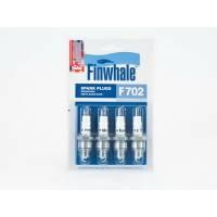 Купить F702 FINWHALE  Свеча зажигания компл. 4шт. ГАЗ /UAZ 3151 (дв.402) Citroen/Peugeot/Honda/Suzuki/Rena по выгодной цене в Sibcastrol - Finwhale F702