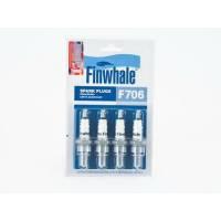 Купить F706 FINWHALE  Свеча зажигания компл. 4шт. ГАЗ (дв.406) Renault/Honda/Mitsubishi/Nissan по выгодной цене в Sibcastrol - Finwhale F706