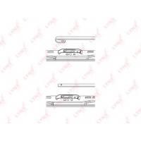 Купить 550L Щетка стеклоочистителя 550m LYNX, 1 шт по выгодной цене в Sibcastrol - Lynxauto 550L
